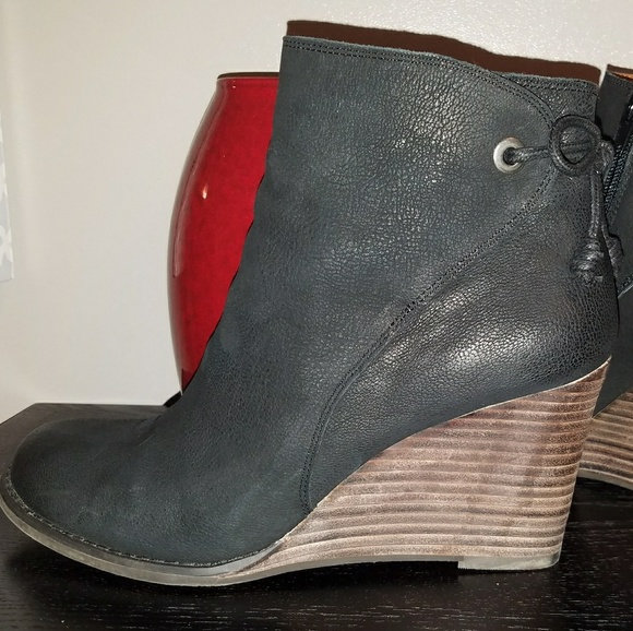 ad27ddc20d5f Lucky Brand Shoes - Lucky Brand - Yamina Wedge Bootie